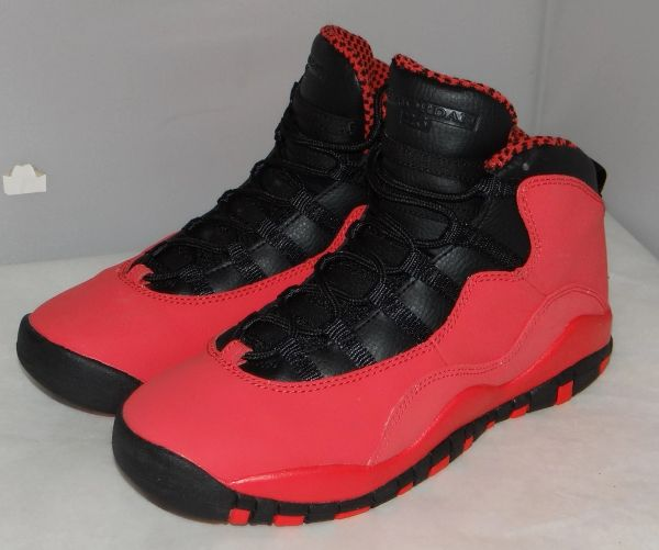 New Air Jordan 10 Fusion Red Size 6.5 #4779 487211 605