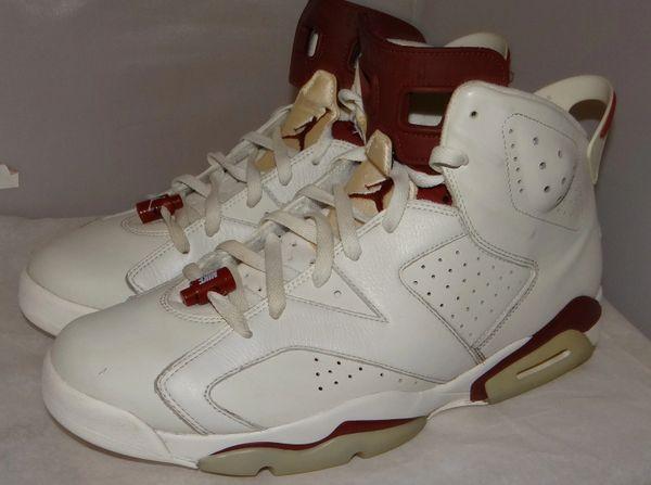Air Jordan 6 Maroon Size 14 384664 116 #4800