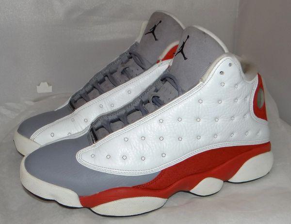 Air Jordan 13 Grey Toe Size 9.5 #4802 414571 126
