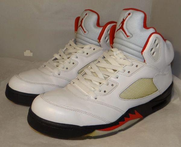 Air Jordan 5 Grey Tongue Size 11.5 136027 100 #4821