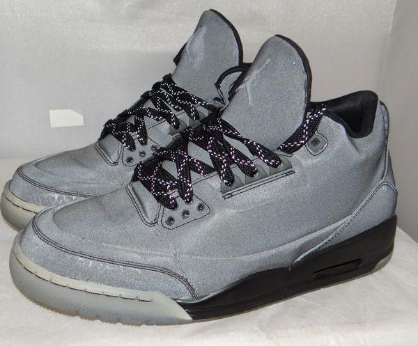 Air Jordan 3 3m Size 8.5 631603 010 #5083