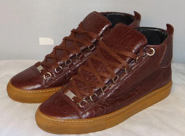 Maroon Balenciagas Size 9.5 ( Size 42 EUR) #5087