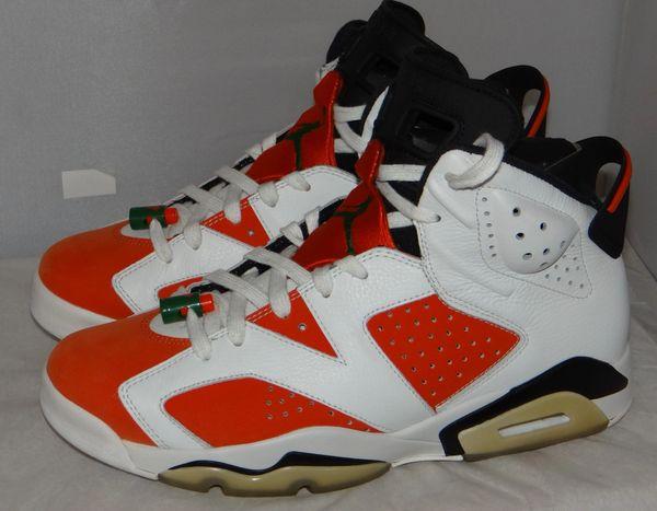 Air Jordan 6 Gatorade Size 10 384664 145 #5086
