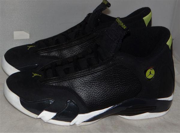 Air Jordan 14 Indiglo Size 10 487471 005 #5115