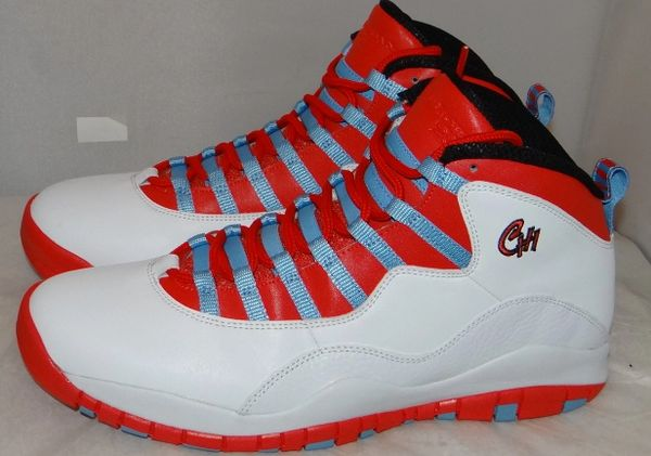 WORN ONCE Air Jordan 10 Chicago Size 11.5 310805 114 #5126