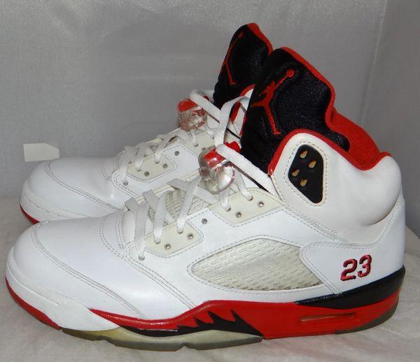 Air Jordan 5 Fire Red Size 9 136027 120 #5128