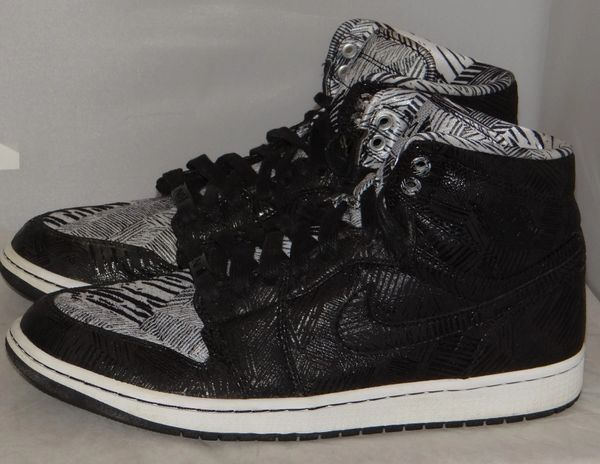 Air Jordan 1 BHM Size 11 579591 010 #3212