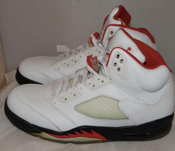 Air Jordan 5 Grey Tongue Size 10.5 136027 100 #4033