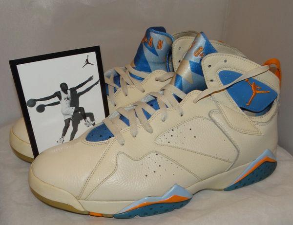Air Jordan 7 Pacific Blue Size 13 304775 281 #4812