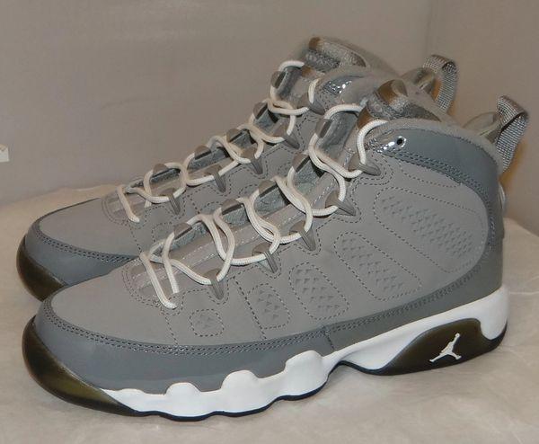 Air Jordan 9 Cool Grey Size 6 302359 015 #4855