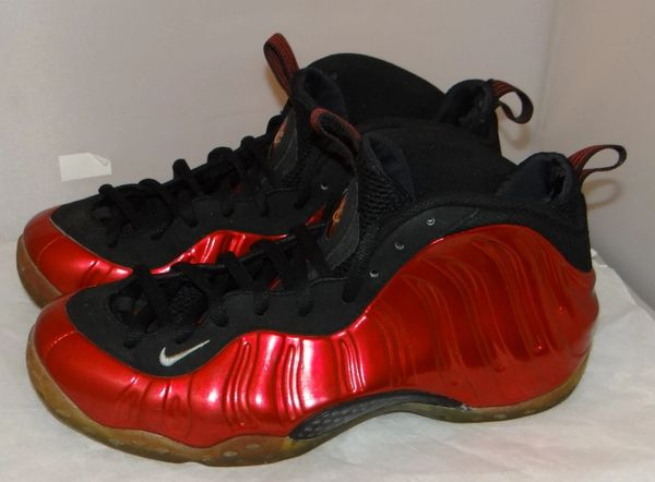 Metallic Red Foamposite Size 10 314996 610 # 2642