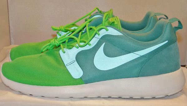 Brand New Nike Sport Turquoise Roshe Size 14 616325 331 #212