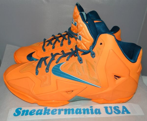 New Lebron XI Atomic Orange Size11.5 616175 800 #3198