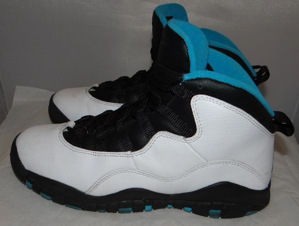 Air Jordan 10 Powder Blue Size 6 310806 106 #3195