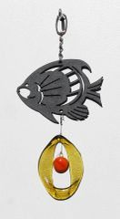 0807 Tropical Fish Metal Mini Chime