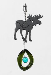 0823 Moose Metal Mini Chime
