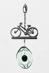 0825 Bike Mini Metal Chime