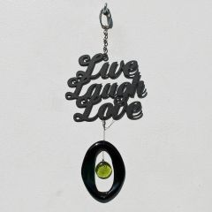 0872 Live, Laugh, Love Mini Metal Chime