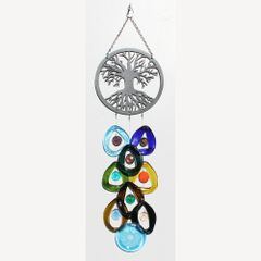 0726 Tree of Life Metal Top Chime