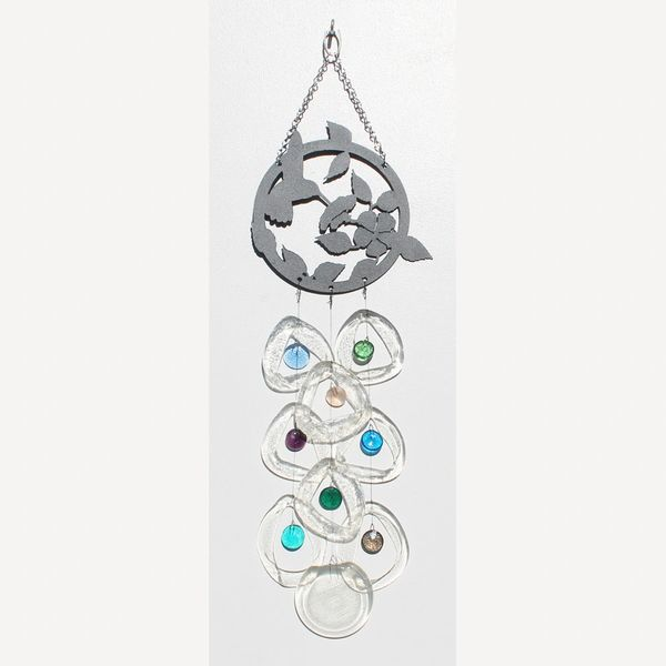 0703 Hummingbird Metal Top Chime