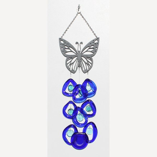 0704 Butterfly Metal Top Chime