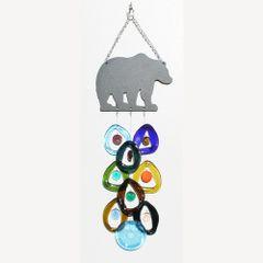 0705 Bear Metal Top Chime