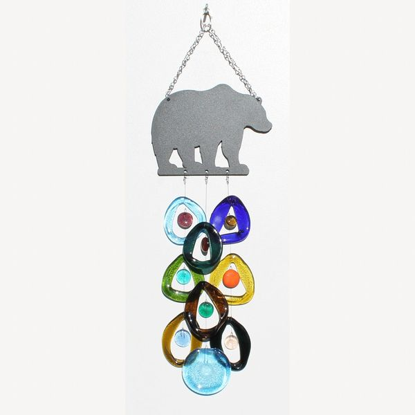 0705 Bear Metal Top Chime