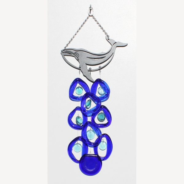 0721 Whale Metal Top Chime