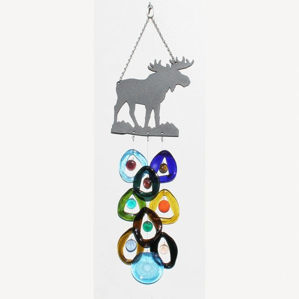 0723 Moose Metal Top Chime