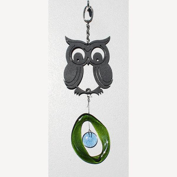 0806-M Owl Metal Mini Chime