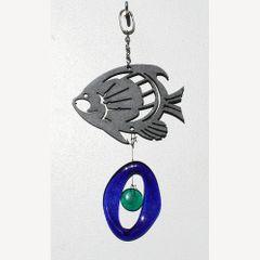 0807-M Tropical Fish Metal Mini Chime