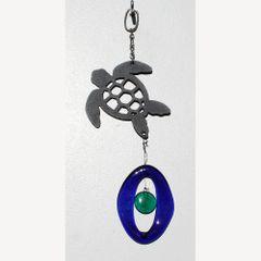 0813-M Sea Turtle Metal Mini Chime