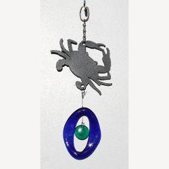 0816-M Crab Metal Mini Chime