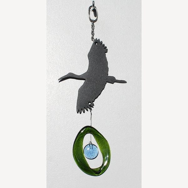 0819-M Heron Metal Mini Chime