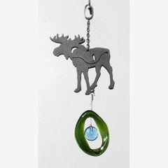 0823-M Moose Metal Mini Chime