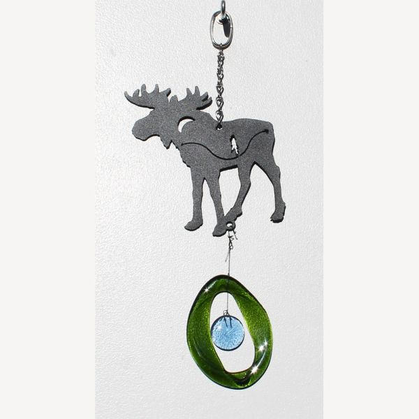 0823-M Moose Metal Mini Chime