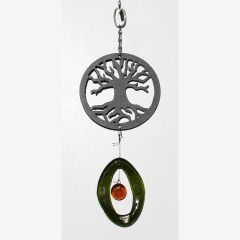 0826-M Tree of Life Metal Mini Chime