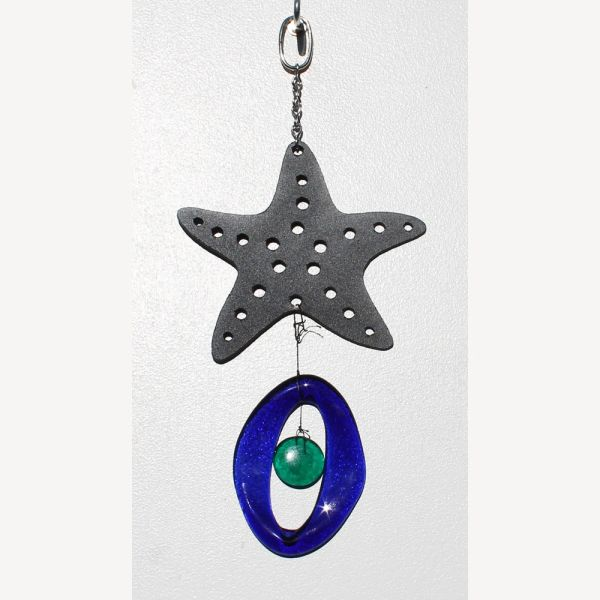 0831-M Starfish Metal Mini Chime