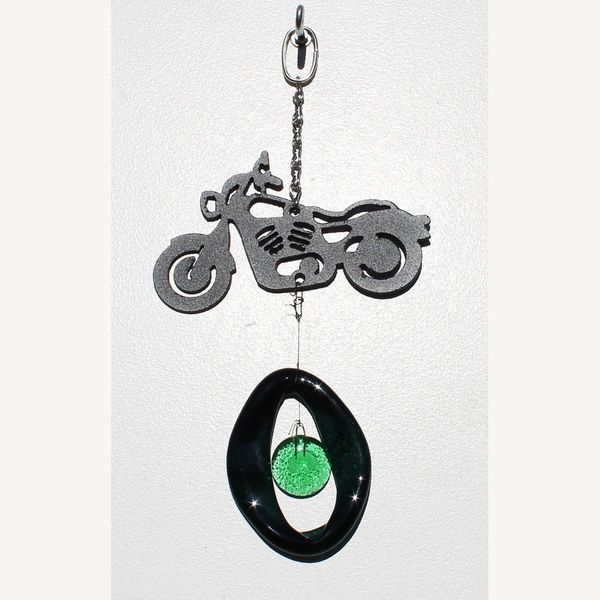 0847-M Motorcycle Metal Mini Chime