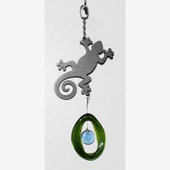 0867-M Gecko Metal Mini Chime