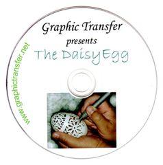Goose Egg Carving, The Daisy Egg