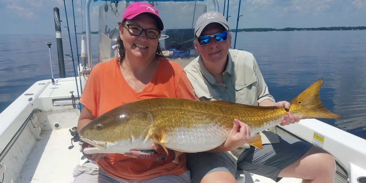 Neuse River/Pamlico Sound trophy redfish