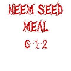 Neem Seed 6-1-2 5lbs.