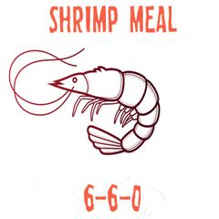 3lbs. Shrimp Meal 6-6-0
