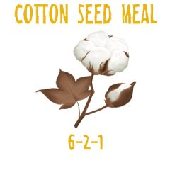 5lbs. Cotton Seed Meal 6-2-1