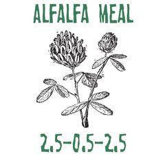 5lbs. Alfalfa Meal 2.5-0.5-2.5
