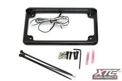 "6"" 6 LED License plate Frame - Black"