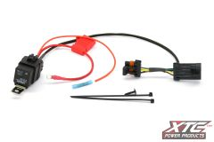 RZR-HB-Relay - Uses Factory High Beam Switch to Turn on Light Bar or Accessory, Fits Polaris RZR XP 2014 and Newer