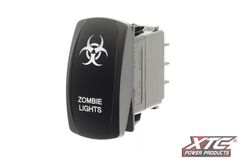 Carling Switch with Zombie Lights Actuator/Rocker