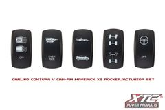 Can-Am Maverick X3 Factory Replacement Rocker Covers, Contura V, Rockers Only